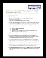 Background – Pocatello-Chubbuck Auditorium District Multipurpose Event Center